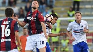 Serie A, Bologna-Sampdoria: le emozioni della gara