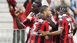 Nizza-Monaco 4-0, Balotelli show: un'altra doppietta