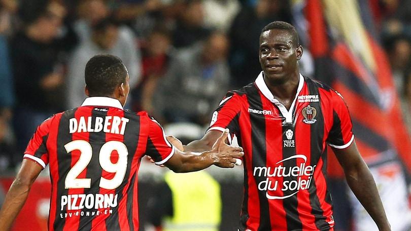 Ligue 1, Balotelli è doppietta: Nizza in testa