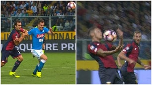 Genoa-Napoli 0-0: gli azzurri chiedono due rigori