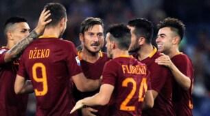 Roma-Crotone, top e flop giallorossi: El Shaarawy gol e rabbia