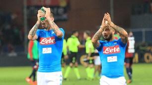Genoa-Napoli, top e flop: Albiol super, Reina prodigioso