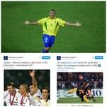 Auguri Ronaldo! Il mondo dello sport festeggia il Fenomeno