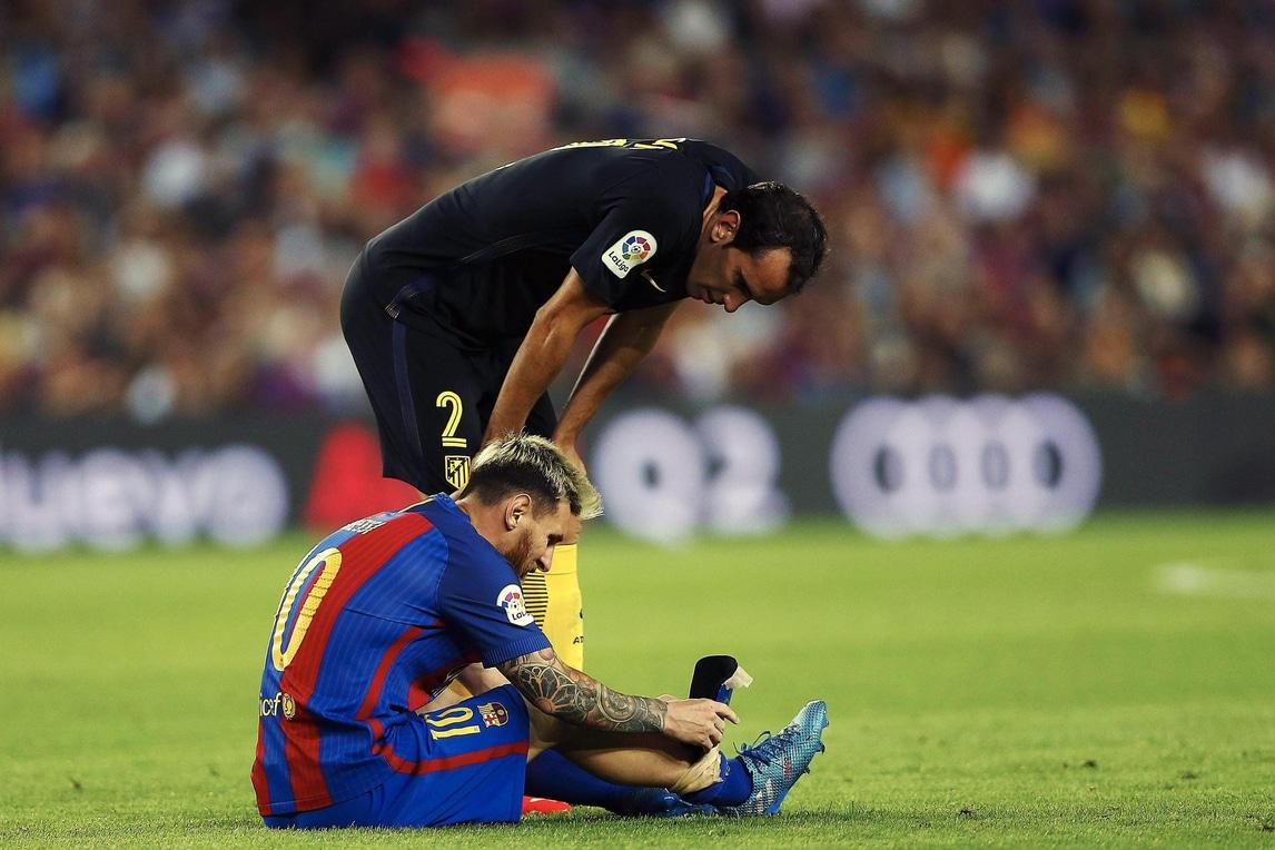 Liga, Barcellona: stop di tre settimane per Messi