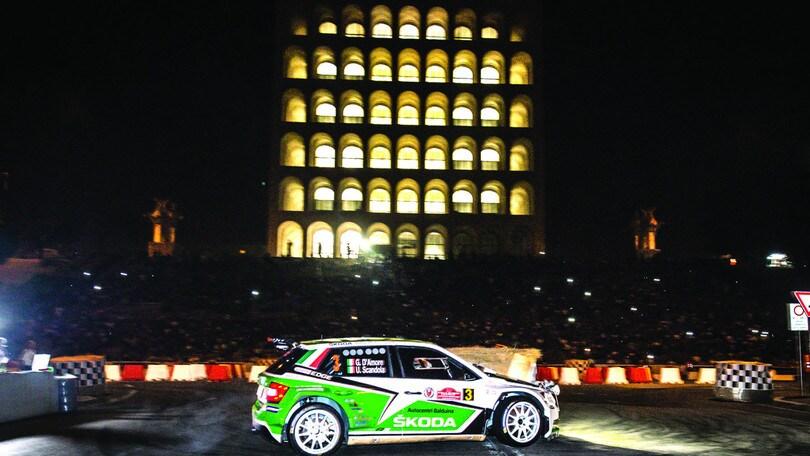 Spettacolo motori con il Rally di Roma