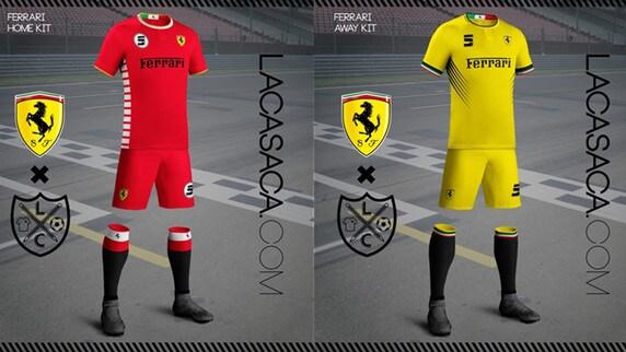 Se Ferrari e Mercedes fossero squadre di calcio...