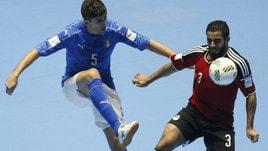 Calcio a 5, Mondiali: Italia eliminata, passa l'Egitto