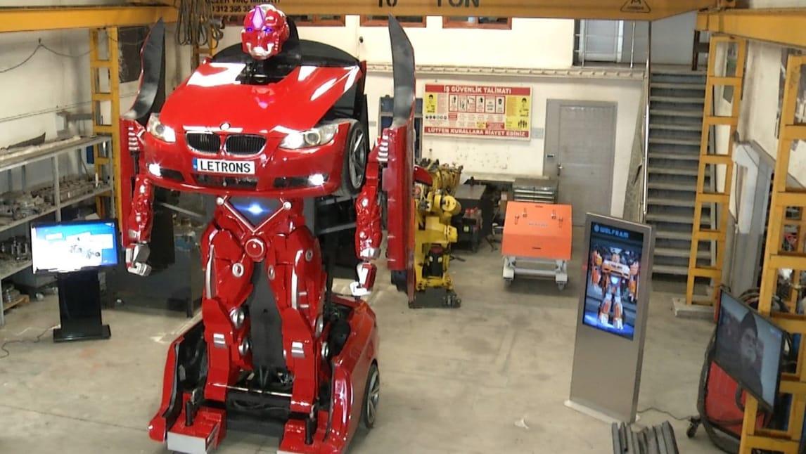 Letrons, i Transformers esistono davvero!