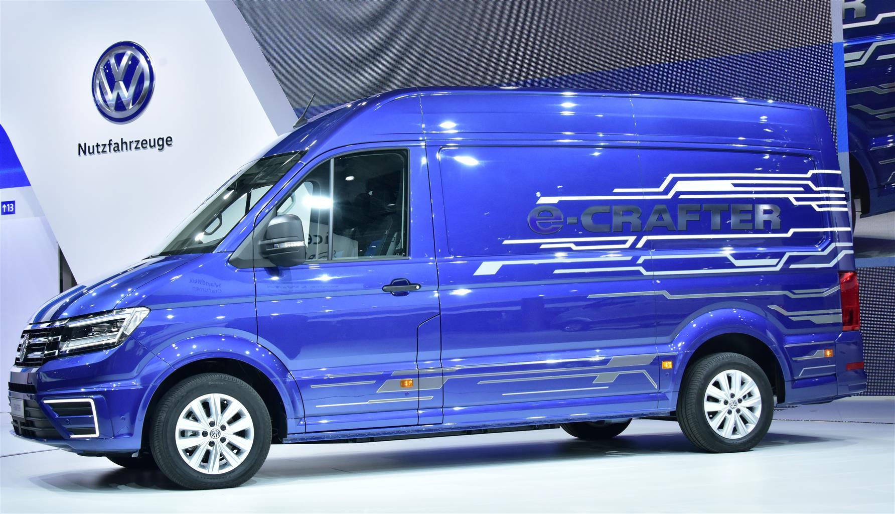 Volkswagen e-Crafter, nel 2017 il primo furgone elettrico
