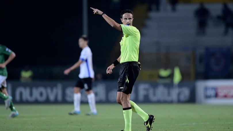 Serie B Pro Vercelli-Cesena, cambia l'arbitro. Dirige Martinelli