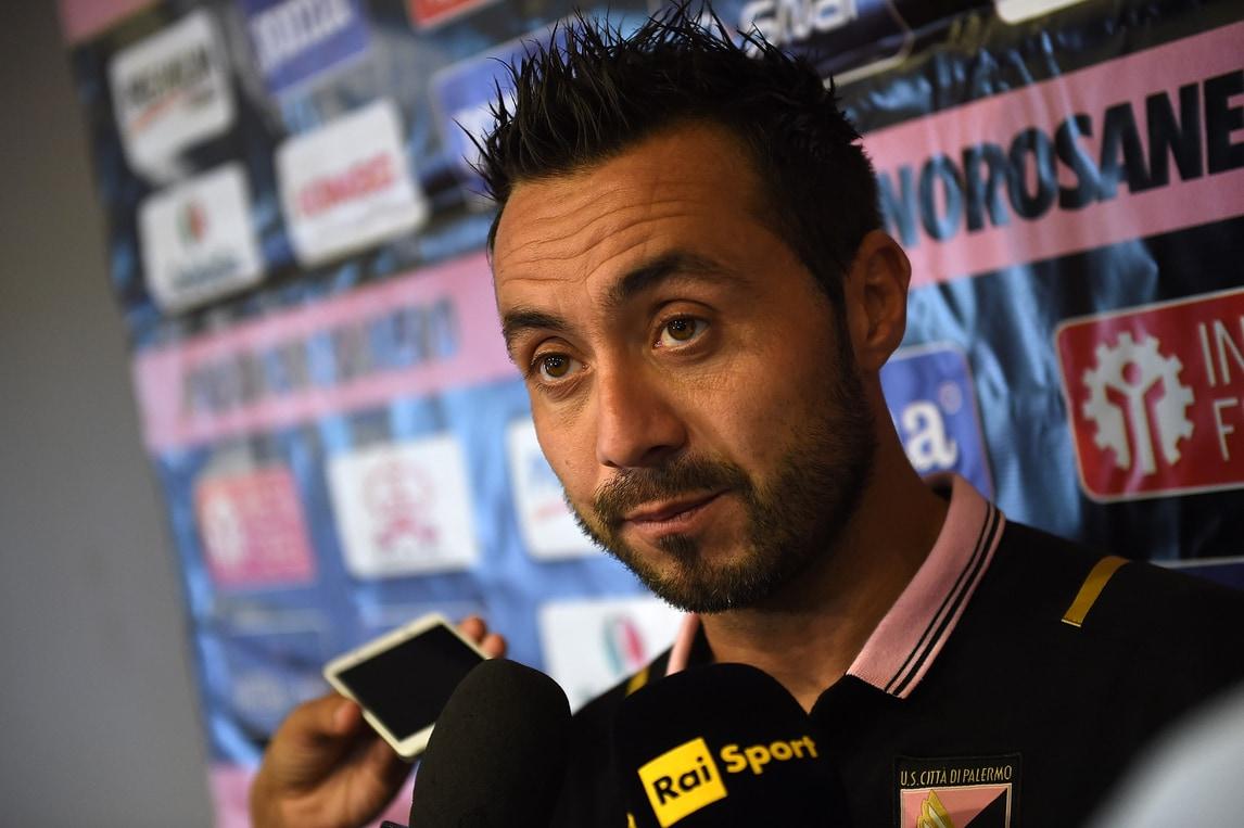 Serie A, De Zerbi: «La Juventus ha tutto. Palermo, sono fiducioso...»