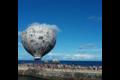 A Ventotene una mongolfiera costruita con il CorrieredelloSport-Stadio