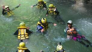 L'avventura del River Walking alla cascata delle Marmore
