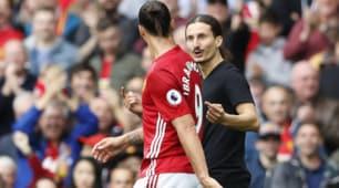 Manchester United-Leicester: in campo anche un sosia di Ibrahimovic