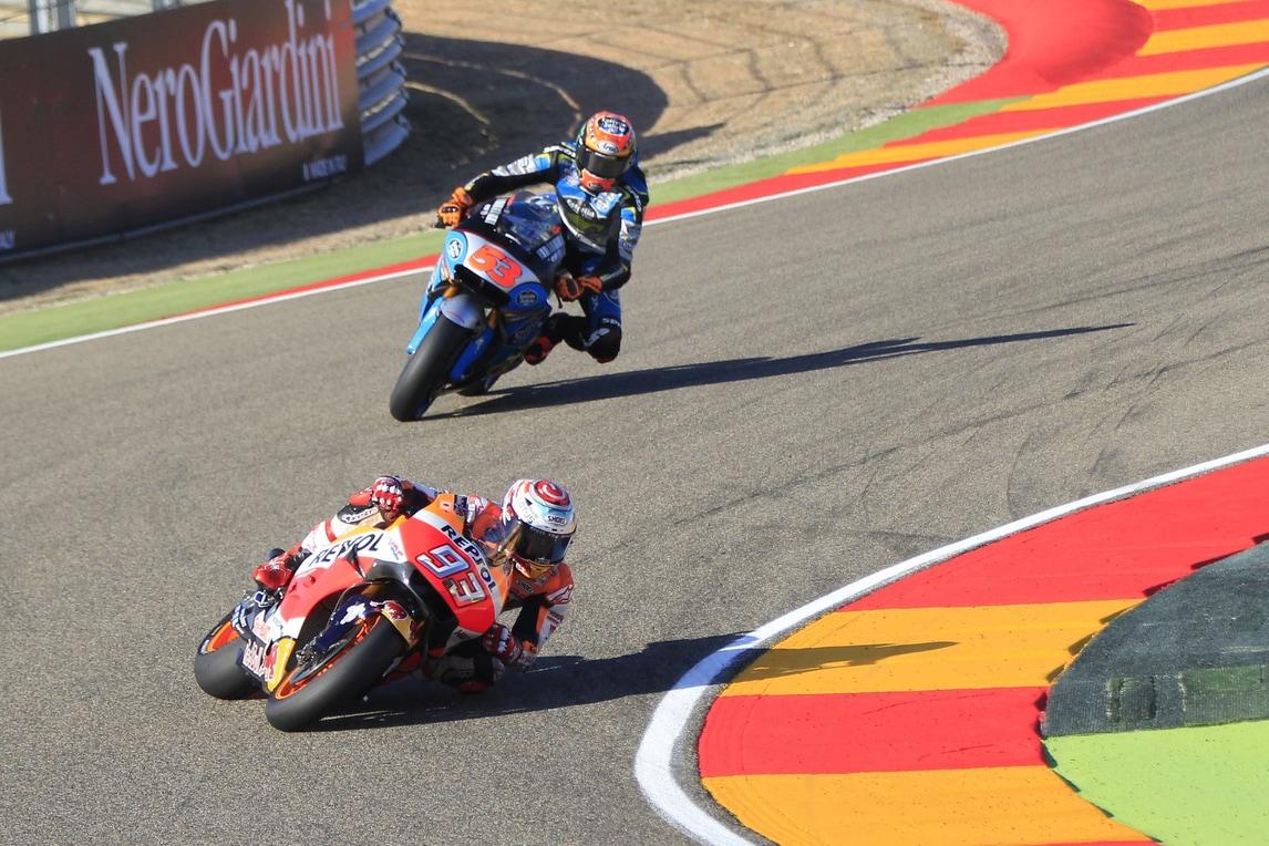 MotoGp, Aragon: la pole è per Marquez, Rossi sesto