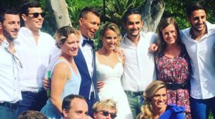 Il matrimonio di Tania Cagnotto, le immagini delle nozze!