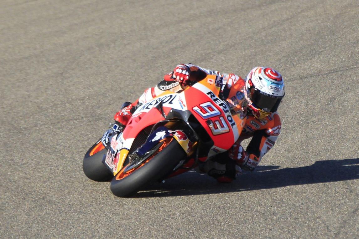 MotoGp Aragon: Marquez imprendibile, la vittoria a 1,65