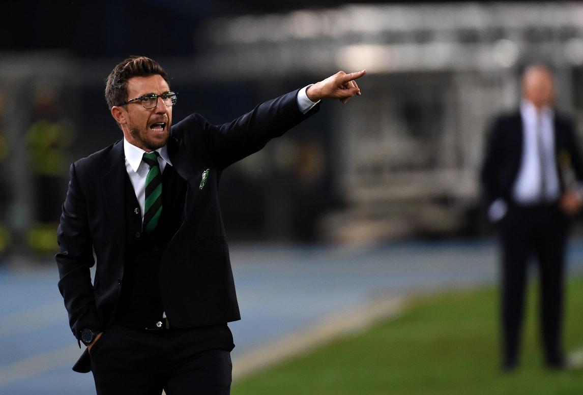 Serie A Sassuolo, Di Francesco: «Assenze? Non sono un alibi»