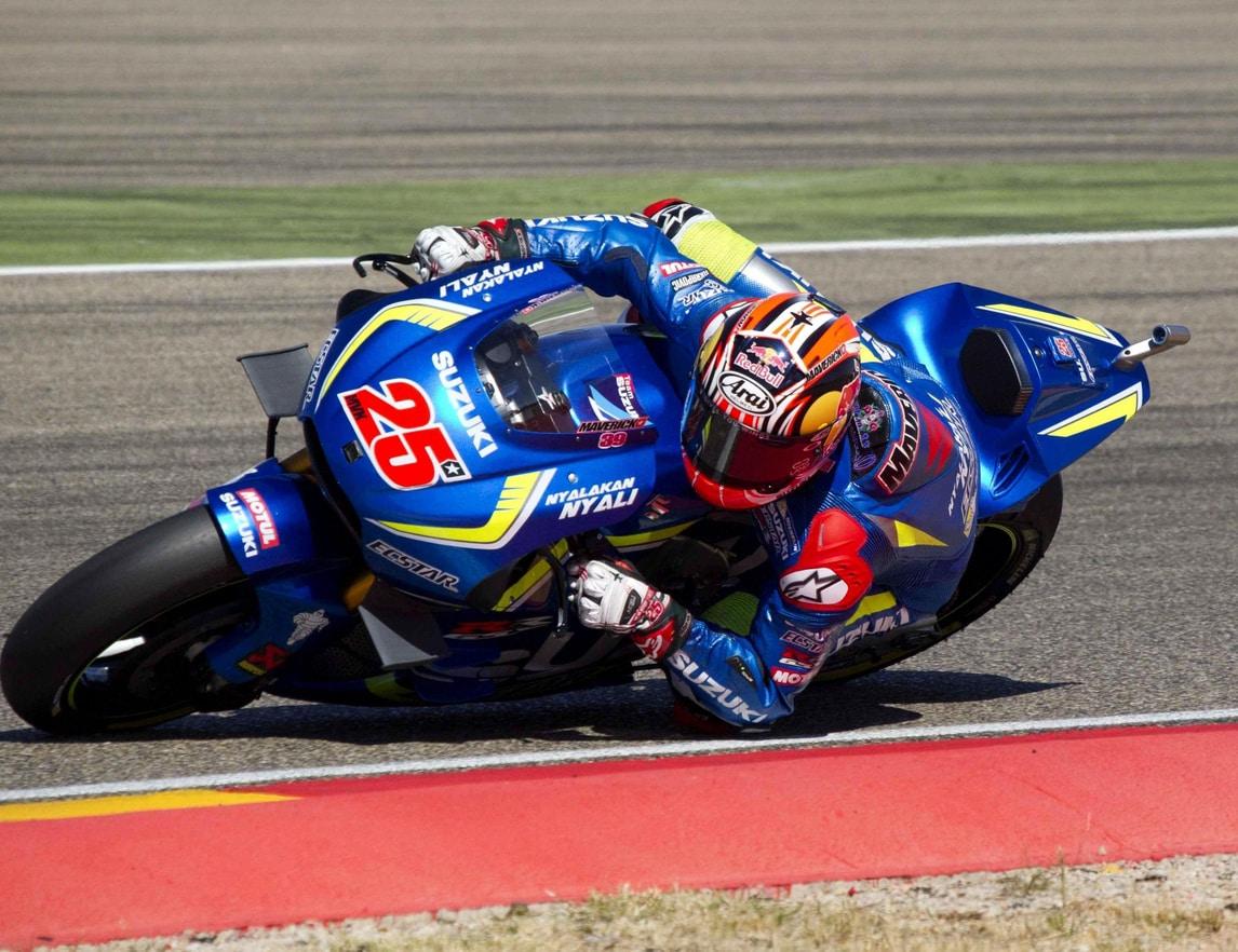 MotoGp Aragon, Vinales: «Grandi passi avanti, Suzuki può fare bene»