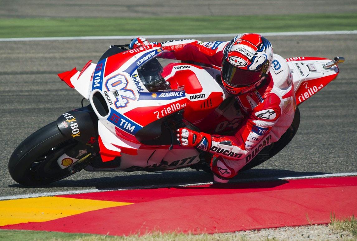 MotoGp Aragon, Dovizioso: «Marquez un astronauta, seconda fila va benissimo»