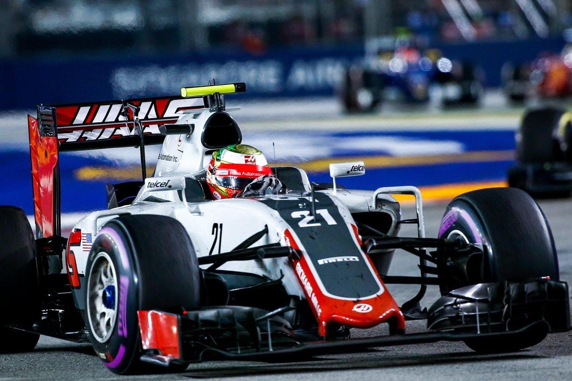 F1 Haas, Gutierrez: «Basta finire fuori dalla zona punti»