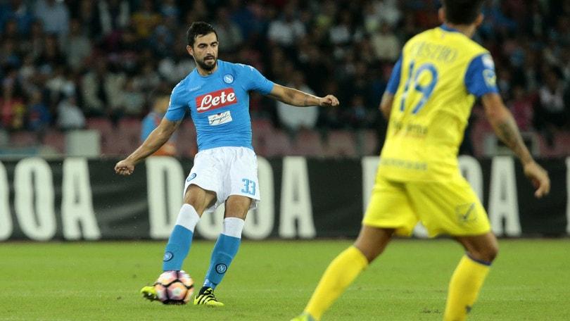 Serie A Napoli, gli esami confermano: elongazione per Albiol