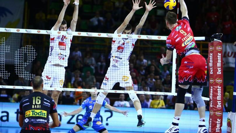 Volley: Supercoppa, Perugia sfiderà Modena in finale