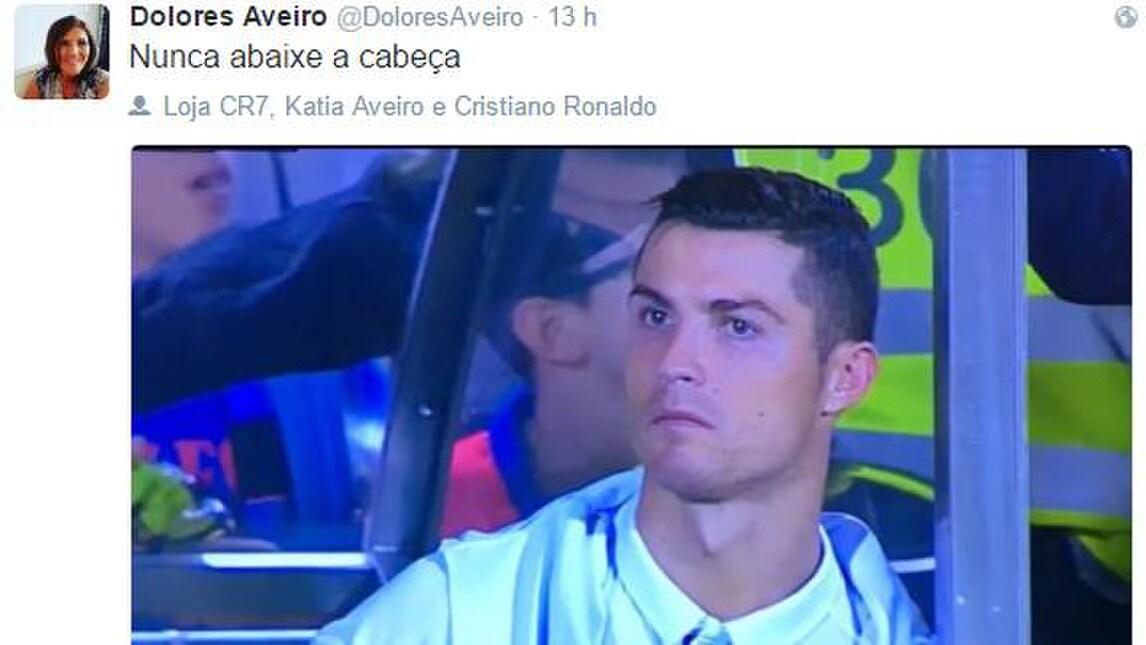 Liga, la mamma consola Ronaldo: «Non abbassare mai la testa»