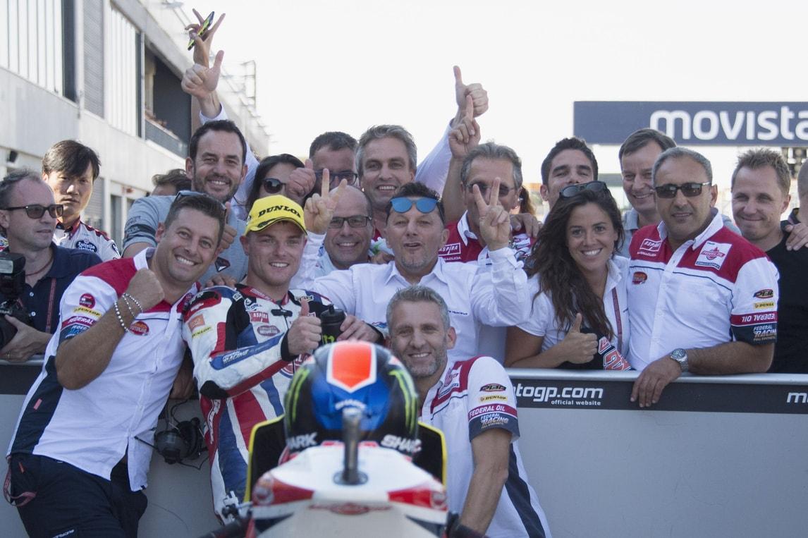 Moto2, Aragon: Lowes primo, sul podio Marquez e Morbidelli