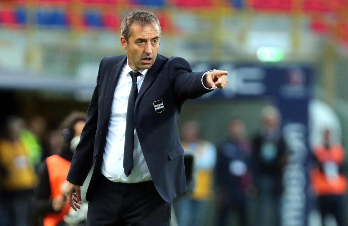 Serie A Sampdoria, Giampaolo: «A Cagliari per fare la nostra partita»