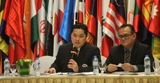 Thohir all'Olimpic Council of Asia
