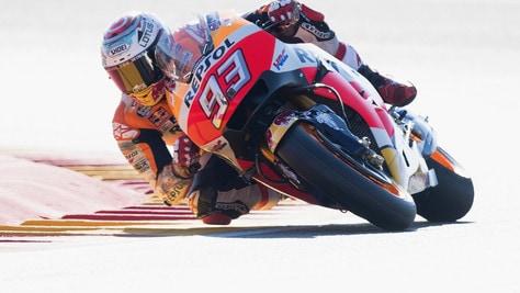 MotoGp Honda, Marquez: «Non entro in polemica Rossi-Lorenzo»