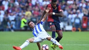 Genoa-Pescara 1-1: Manaj risponde a Simeone