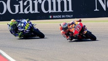 MotoGp Aragon, Marquez: «Buono fermare il recupero di Rossi»