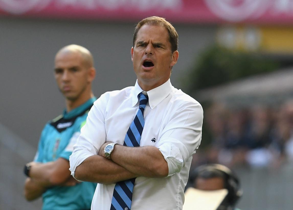 Inter, De Boer: «Kondogbia? Quando un giocatore non vuole ascoltare...»