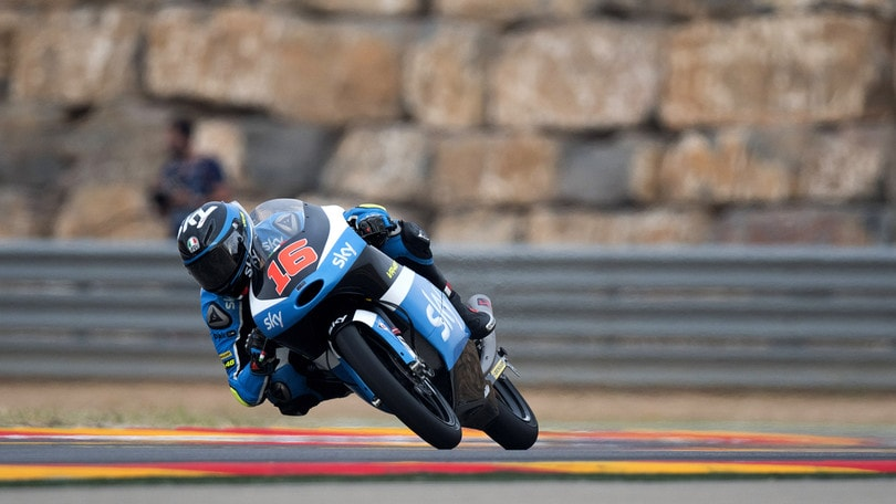 Moto3 Aragon, SkyTeam: zona punti per Migno