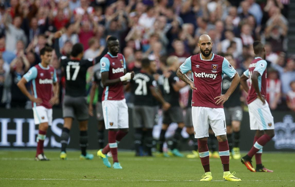 Premier League, West Ham choc: quarto ko di fila. Delude Zaza
