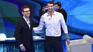 Michael Phelps show da Fabio Fazio