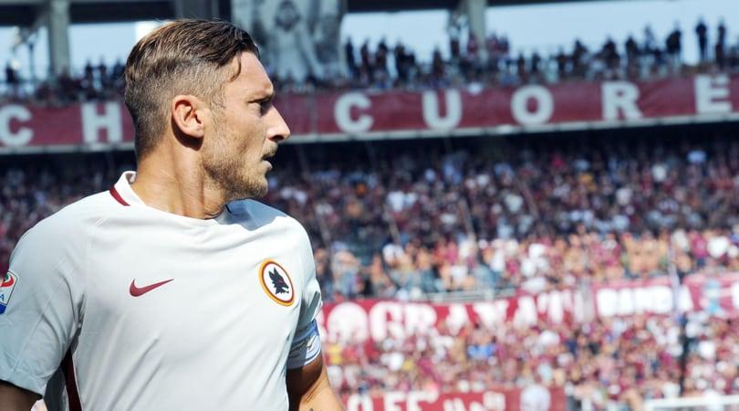 Auguri Totti: giù la quota su 8 gol in campionato