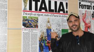 Marco D'Amore ospite nella redazione del Corriere dello Sport.it