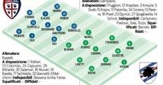 Serie A Diretta Cagliari-Sampdoria, tempo reale e probabili formazioni. Live alle 21