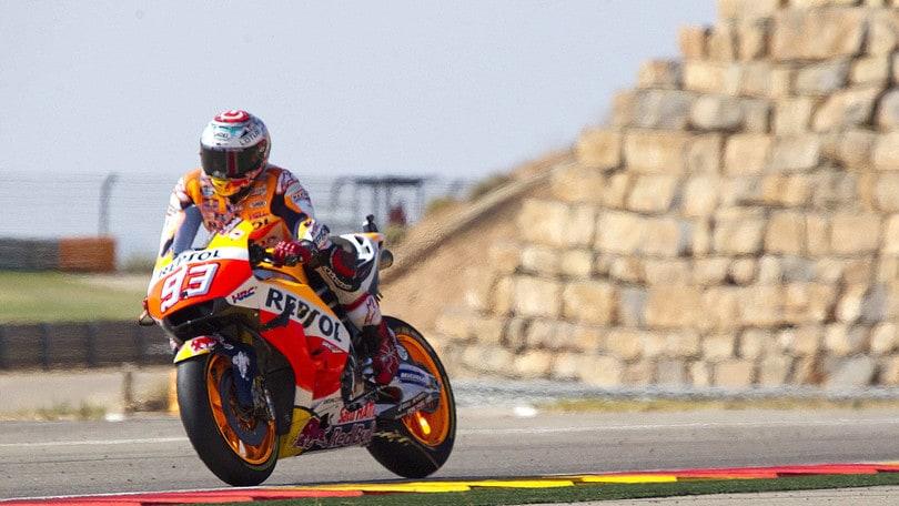 MotoGp: Marquez allunga, titolo a 1,10