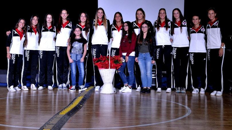Volley: A2 Femminile, la VolAlto si presenta con i Neri per Caso