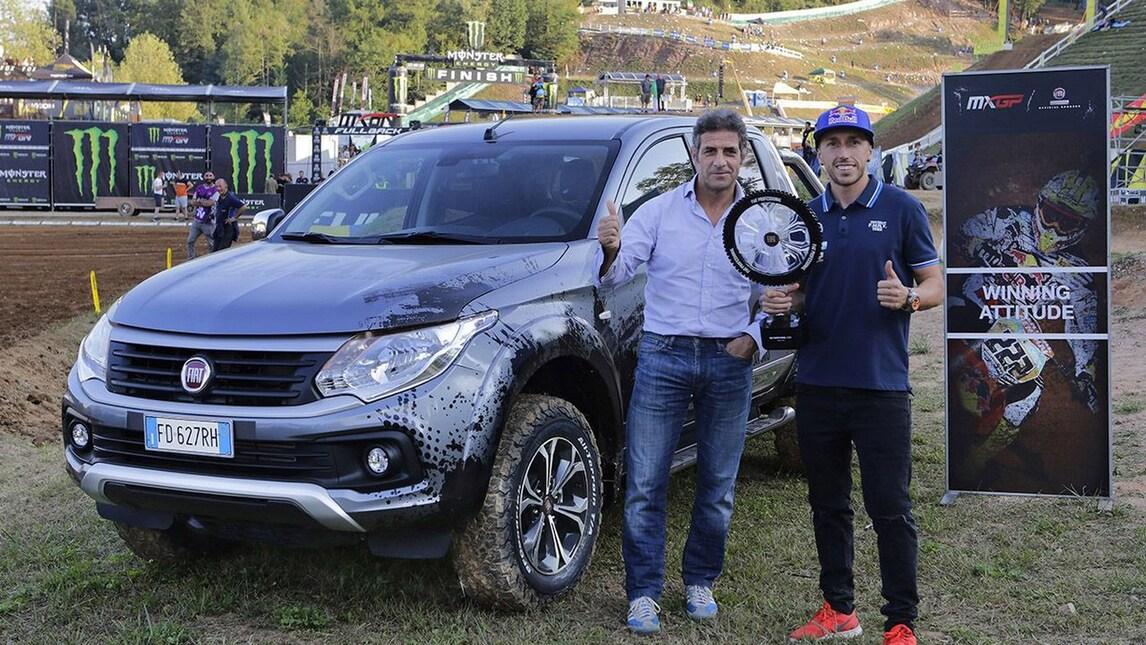 Fiat Fullback e Tony Cairoli al Motocross delle Nazioni