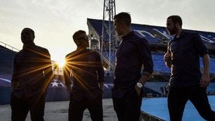 Champions League Juventus,tutti in campo al Maksimir al tramonto