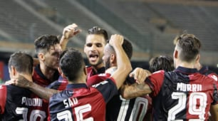 Serie A: Cagliari-Sampdoria 2-1, le immagini di un pazzo finale