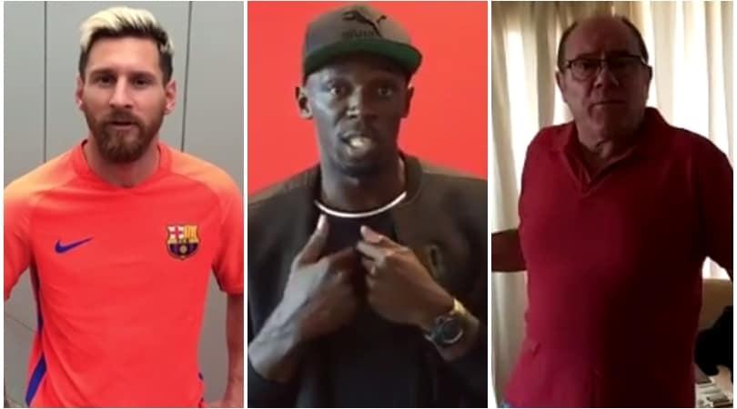 Totti, da Bolt a Messi: quanti auguri per i tuoi 40 anni
