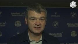 Ryder Cup, il team Europa ricorda Arnold Palmer