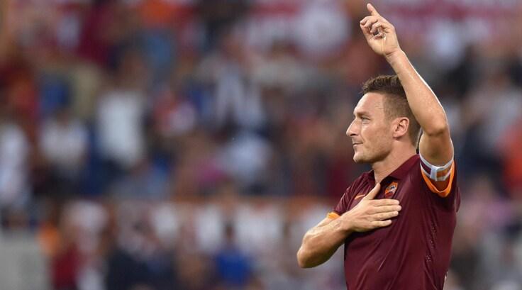 """Diretta Totti 40. Cassano: """"Il più forte numero 10 italiano"""""""