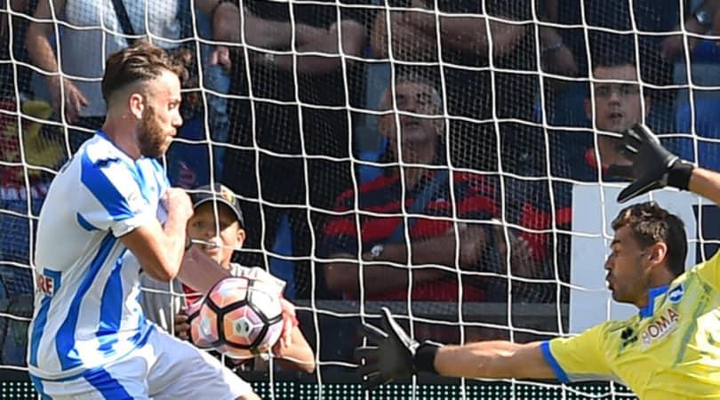 Serie A Pescara, mani non visto: due turni a Zampano con prova tv